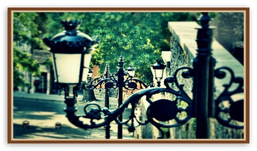 Download Streets of old Plovdiv UltraHD Wallpaper
