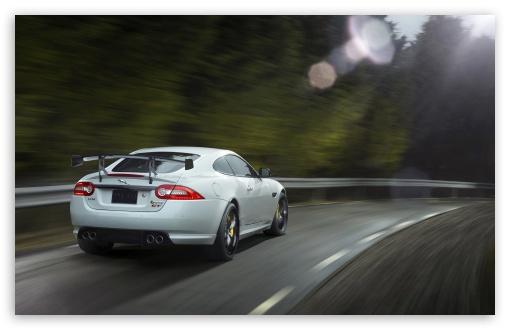 Download 2014 Jaguar XKR S GT Rear UltraHD Wallpaper