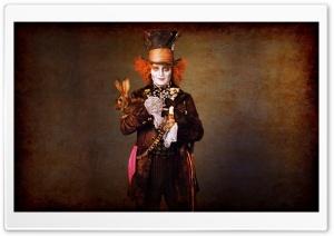 Johnny Depp In Alice In...