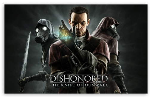 Download Dishonored The Knife of Dunwall UltraHD Wallpaper