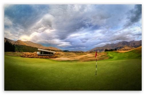 Download Beautiful Golf Course UltraHD Wallpaper