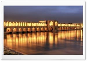 Khaju Bridge At Dusk,...