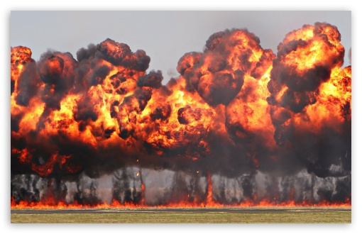 Download Giant Explosion UltraHD Wallpaper