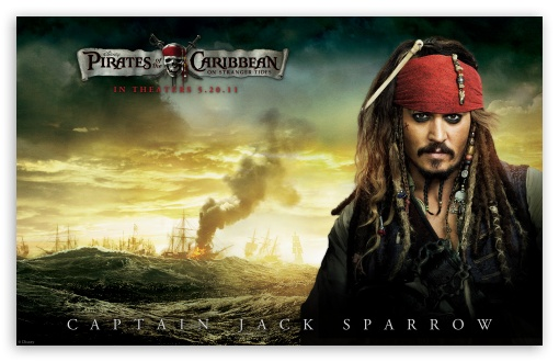 Download Jack Sparrow - 2011 Pirates Of The Caribbean... UltraHD Wallpaper
