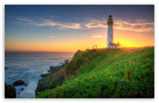 Download Pigeon Point Lighthouse, California UltraHD Wallpaper