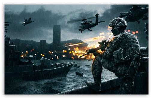 Download Battlefield 4 Siege of Shanghai UltraHD Wallpaper