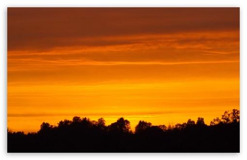 Download Sunset in Estonia. UltraHD Wallpaper