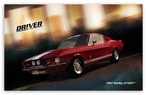 Download Driver San Francisco 1967 Shelby GT500 UltraHD Wallpaper