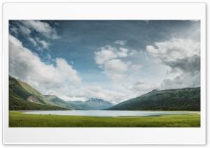 Eklutna Lake, Alaska, Nature,...