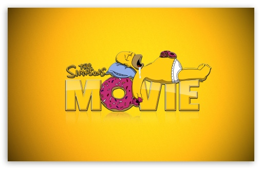 Download The Simpsons Movie UltraHD Wallpaper