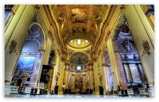 Download Basilica Sant Andrea della Valle UltraHD Wallpaper