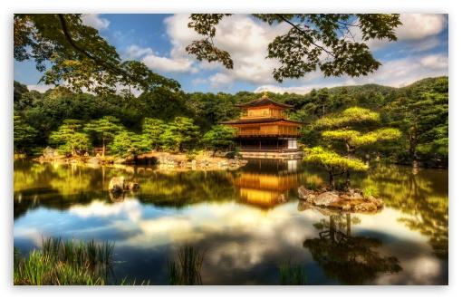 Download The Golden Pavilion, Kyoto UltraHD Wallpaper