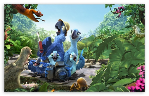 Download Rio 2 Amazon UltraHD Wallpaper