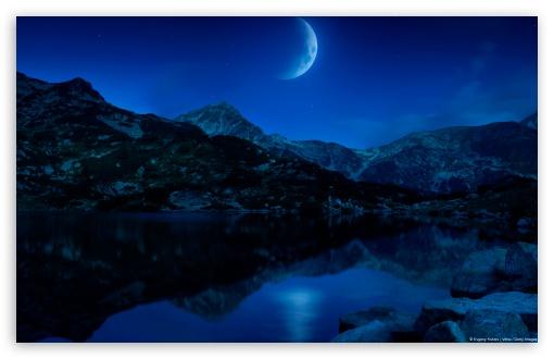 Download Lune Ascendante UltraHD Wallpaper