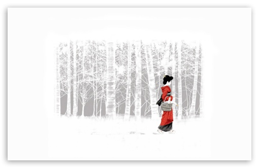 Download Geisha UltraHD Wallpaper