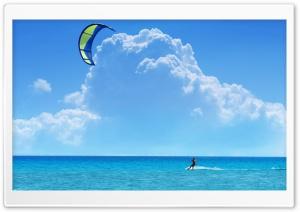A Kitesurfer