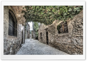 Streets of Mura Catalonia
