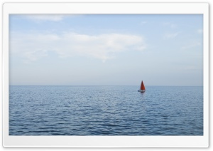 Solo Sail Boat