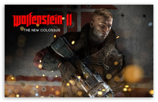 Download Wolfenstein II 2 The New Colossus UltraHD Wallpaper