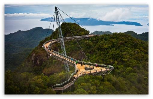 Download Langkawi Sky Bridge Malaysia UltraHD Wallpaper