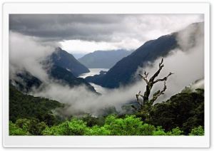 Cloudy Weather Mountains...