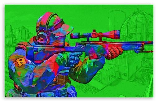 Download CSGO - Toxic - Green UltraHD Wallpaper