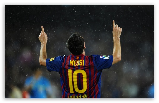 Download Lionel Messi 2012 UltraHD Wallpaper
