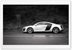 Audi R8 At Speed