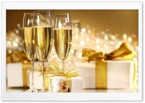 Champagne, New Year