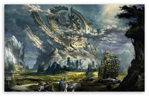 Download Fantasy Scenery UltraHD Wallpaper