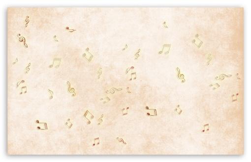Download Music Notes UltraHD Wallpaper