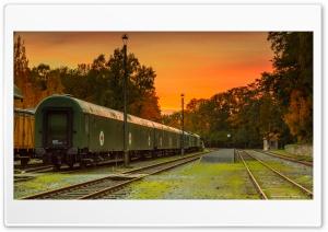 Vintage Train Station