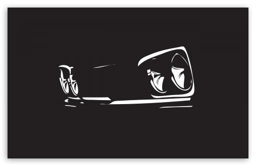 Download Night Car UltraHD Wallpaper
