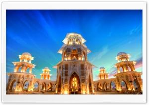 Tower at Sunset, Burning Man,...