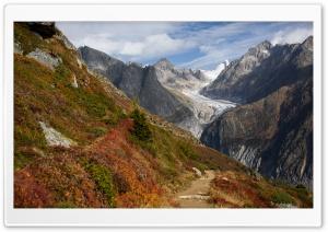 Swiss Alps Mountain range,...