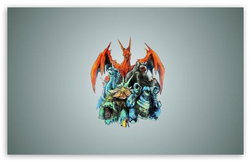 Download Pokemon Monsters UltraHD Wallpaper