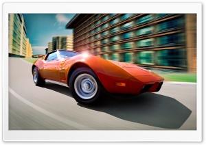 Chevrolet Corvette Orange