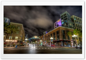 San Diego Gaslamp District...