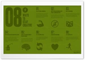 8 Ways To Stay Creative