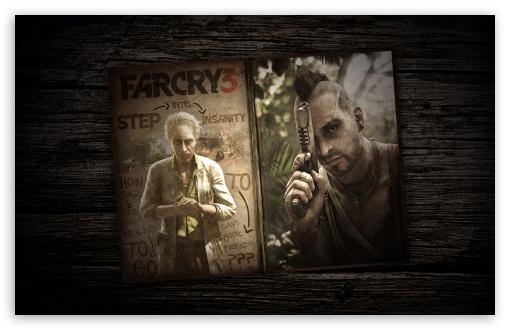 Download Far Cry 3 - Old Book UltraHD Wallpaper
