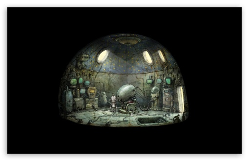 Download Machinarium Game UltraHD Wallpaper