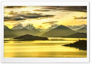 Mountains Panorama, HDR