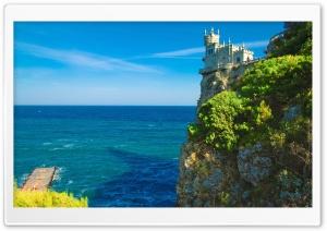 Cliff Top Castle Swallows...