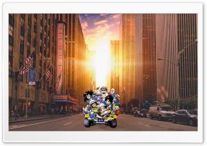 Dragon Ball Team in Manhattan
