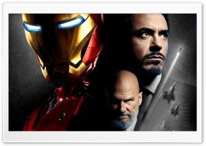 Iron Man and Obadiah Stane
