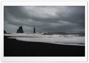 Stormy Weather, Waves, Black...