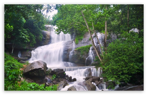 Download Gods Own Waterfall UltraHD Wallpaper