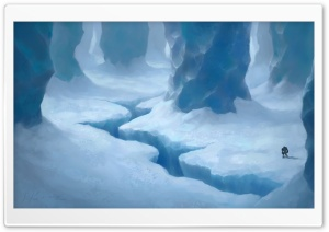 Ice Cave Painting