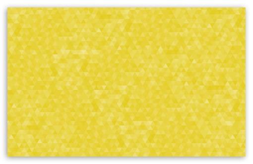 Download Yellow Geometric Triangles Pattern Background UltraHD Wallpaper