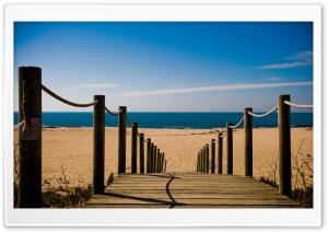 Bridge Towards The Beach